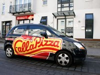 Pizza-Lieferservice - Franchise